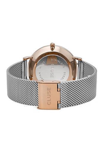 Cluse La Boheme Mesh Rose Gold/Silver Womens Mesh Watch CL18116