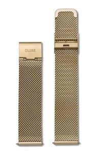 Cluse La Bohème Watch Strap Mesh Gold CLS046