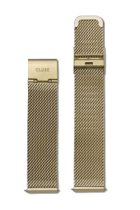 Cluse Minuit Mesh Gold Womens Watch Strap CS1401101029