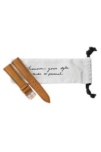 Cluse La Bohème Womens Leather Watch Strap Caramel/Rose Gold CLS003