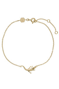 Cluse Force Tropicale Gold Alligator Chain Bracelet CLJ11021