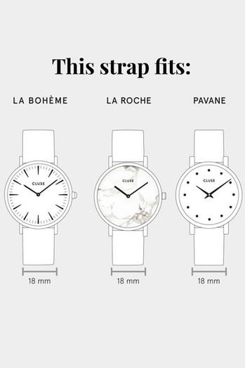 Cluse La Boheme Watch Size Guide