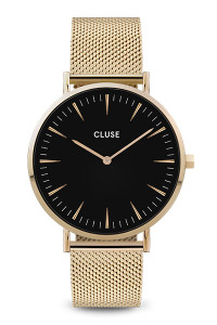 Cluse La Boheme Mesh Gold/Black Watch CW0101201014