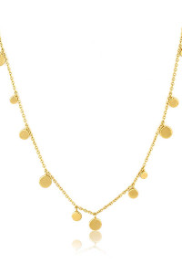 Ania Haie Geometry Mixed Discs Necklace N005-01G