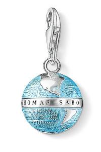 Thomas Sabo Globe Charm Pendant CC754
