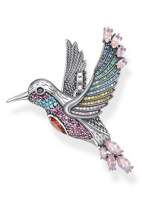 Thomas Sabo Pendant Colourful Hummingbird Silver TPE875