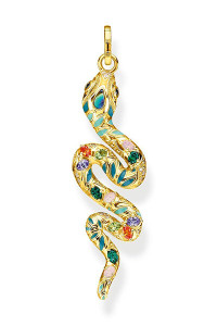 Thomas Sabo Pendant Bright Golden-coloured Snake TPE879Y
