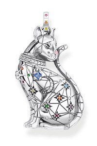 Thomas Sabo Pendant Cat Constellation Silver TPE883
