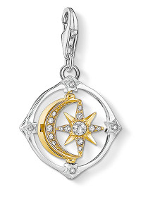 Thomas Sabo Charm Pendant Moveable Moon & Star CC1815 (CC1815)