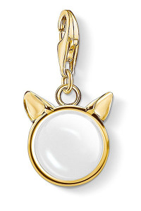 Thomas Sabo Charm Pendant Cat's Ears, Gold CC1841 (CC1841)