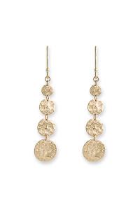 Bianc Gold Jingle Hook Earrings 10100357