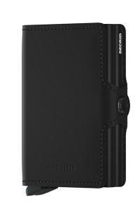 Secrid Twinwallet Matte Black Wallet SC7285