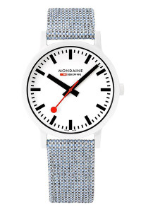 Mondaine Official Swiss Railways essence 41mm Watch MS1.41110.LD
