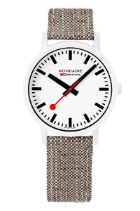 Mondaine Official Swiss Railways essence Watch 41mm MS1.41110.LG