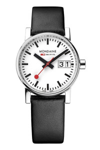 Mondaine Official Swiss Railways evo2 30mm Watch MSE.30210.LB