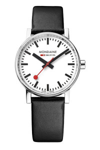 Mondaine Official Swiss Railways evo2 35mm Watch MSE.35110.LB