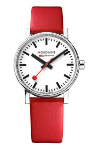 Mondaine Official Swiss Railways evo2 35mm Watch MSE.35110.LC