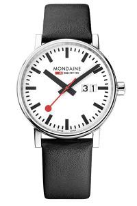 Mondaine Official Swiss Railways evo2 Big Date 40mm Watch MSE.40210.LB