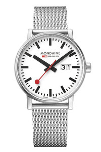 Mondaine Official Swiss Railways evo2 Big Date 40mm Watch MSE.40210.SM
