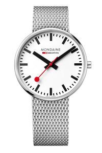 Mondaine Official Swiss Railways Giant BackLight 42mm Watch MSX.4211B.SM