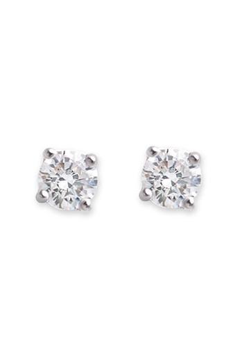Bianc CZ Medium Claw Set Stud Earrings 10100341