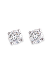 Bianc CZ Large Claw Set Stud Earrings 10100342