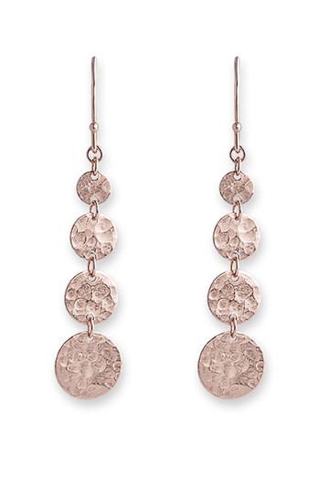 Bianc Rose Gold Jingle Hook Earrings 10100356