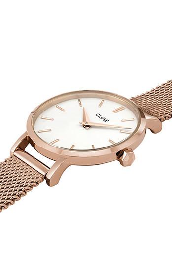 Cluse La Boheme Petite Mesh Rose Gold/White Watch CW0101211003