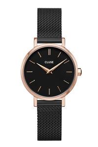 Cluse La Boheme Petite Mesh Rose Gold/Black Watch CW0101211004