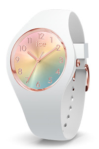 Ice Sunset Rainbow/White 34mm Small Watch 15743