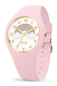 Ice Fantasia Rainbow Pink Small 3H Watch 17890