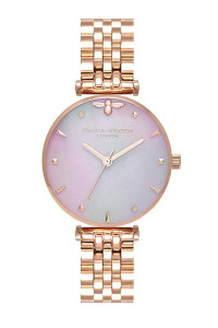 Olivia Burton Queen Bee Rose Gold Bracelet Watch OB16AM152