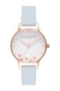 Olivia Burton Dancing Daisy Chalk Blue Watch OB16CH04