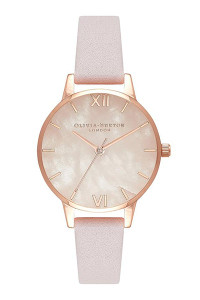 Olivia Burton Semi Precious Rose Gold Watch OB16SP02