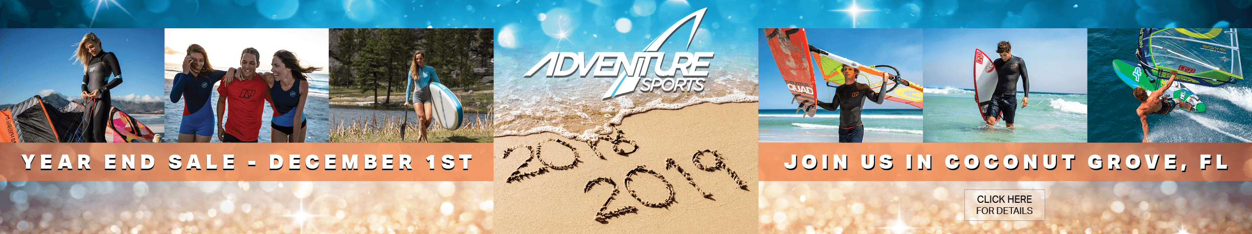 End of year sales - Adventure Sports  - Coconut  Grove