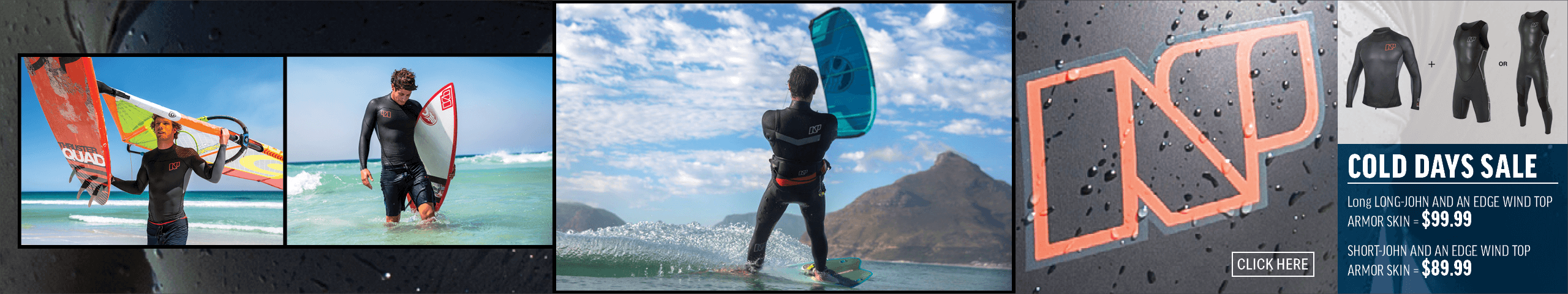 Wetsuits, Rash Guards on Sale