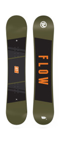 2017 FLOW MICRON CHILL 140 KIDS SNOWBOARD