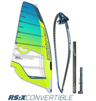 RS:X Convertible Complete 7.8 Rig Pack