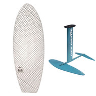 Hydrofoil Modern SpaceFish Board with Neilpryde Glide Surf Foil Combo
