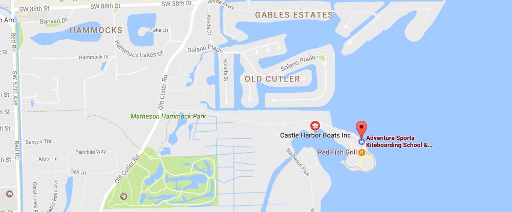 Coral Gables Florida Map.Contact Us Adventure Sports Coral Gables Florida