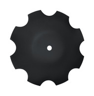 "16"" x 4.5mm Notched Raised Crimp Center Disc Blades (DNF084559)"