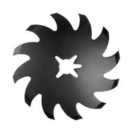 Shark Tooth Wheel, Rolling Cultivator to Fit Yetter (2967-602)