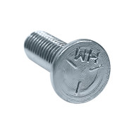 "3/8"" x 1-1/4"" Plow Head Bolt, Grade 5, Zinc (F-44641)"