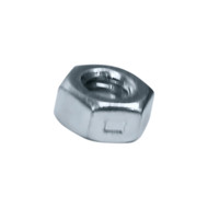 "1/4""-20 Center Lock Nut Reversible, Zinc (2CLN14200)"