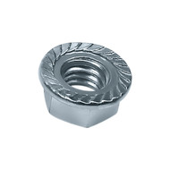 "3/8"" Flange Nut Grade 5, Zinc (F-58579)"