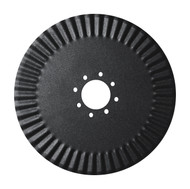 "20"" x 4.5mm, Dual 4 Bolt 3-11/16"" Pilot, Fluted Edge Fluted Coulter Blades (CF124590A1)"