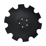 "20"" x 6mm Notched Flat Back Disc Blades to Fit Joker (DNF126054)"