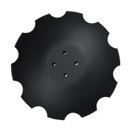"20"" x 6.5mm Notched Flat Back Disc Blades to Fit Norwood Kwik-Till & JD High Speed Disc (DNF126566C5)"