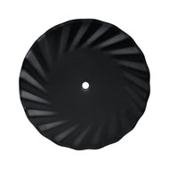 """16"""" x 5mm Directional NIAUX 200 Coulter Blades, 20 Wave (CT085040#)"""