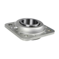 "Disc Bearing Riveted Flange, Greaseable 2-3/16"" RD Bore ST740B, PEER to Fit Case IH and New Holland (WP740B)"